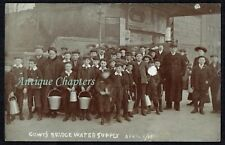 1905 Typhoid Outbreak Gowts Bridge Lincoln Lincolnshire Postcard C447