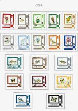 Gibraltar, 1982 QEII Flora & Fauna, complete set used (G086)