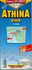 Map of Athens, Greece, Laminated & Folded by Berndston Maps
