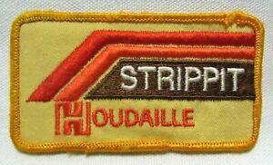 Vintage Strippit Houdaille Jacket Patch Badge Ft Lauderdale Florida Work Uniform