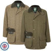 Portmann Mens Malvern Tweed Wool Jacket Coat Hunting Shooting Fishing XS to 3XL