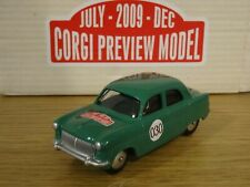 CORGI PREVIEW MODEL 2009 VANGUARDS FORD CONSUL GREEN CAR MODEL AN01104 1:43