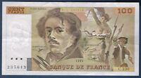 FRANCE - 100 FRANCS DELACROIX Fayette n° 69 bis.8c de 1993 en SUP C.230  235643