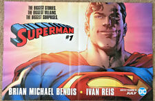 Superman #1 DC Comics Poster 3' x 2' Folded In 16ths SDCC NYCC Exclusive Rare