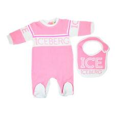 Iceberg Set Tutina e Bavetta Bambina SETICEF9301 200 Rosa