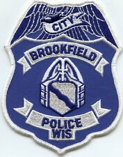 BROOKFIELD WISCONSIN WI CITY POLICE PATCH
