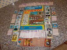 ALBUM CAMPIONI DELLO SPORT 1968 PANINI VUOTO EDICOLA+SET(-18FIG+19 ADESIVI)+CLAY