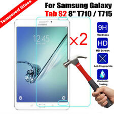 2x  Tempered Glass Film Screen Protector For Samsung Galaxy Tab S2 8.0 T710 T715