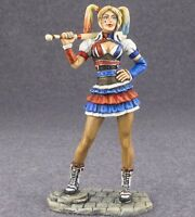 Hand Painted Woman Harley Quinn 1/32 Metal Tin Figure Girl Toy Soldier 54mm
