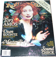 Tori Amos SIGNED AUTOGRAPH Rolling Stone Cover with Signing Details AFTAL UACC