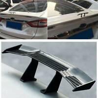 Universal Car Rear Tail Wing GT Carbon Spoiler Mini Auto Usable Simple 17cm