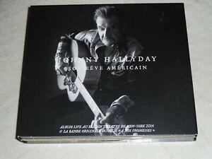 JOHNNY HALLYDAY : SON REVE AMERICAIN 3 CDs