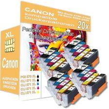 20x XL Druckerpatronen für Canon Pixma MG5750 MG5751 TS5050 MG7750 TS6050 TS8050