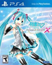 Hatsune Miku: Project DIVA X PS4 (Sony PlayStation 4, 2016) Brand New