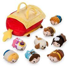 Disney Beauty & the Beast Tsum Tsum Set of 8 Small Tote Dog Foot Rest Human Bag