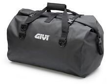 GIVI EA119BK SEAT BAG large 60 L Motorcycle Motorbike Waterproof Cylinder Drybag
