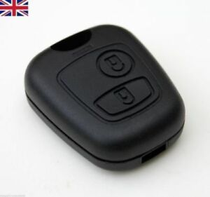 CITROEN C1 C2 C3 C4 XSARA PICASSO 2 BUTTONS REMOTE KEY FOB CASE SHELL COVER NEW