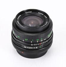 28Mm 28/2.8 Vivitar In Canon Fd Mount (Moderate Haze), Stiff Focus/212429