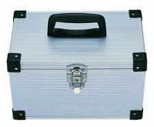 1 x 200 DJ Aluminium Flight Carry Case CD DVD Blu Ray Disc Storage with Sleeves