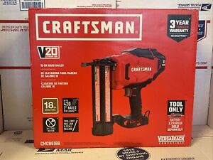 Craftsman 18 GA 20v Cordless Brad Nailer CMCN618B (Tool Only) - BRAND NEW!!!