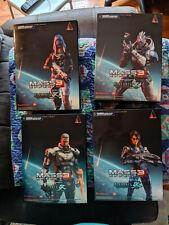 Mass Effect Play Arts Kai Shepard Garrus Tali Ashley Lot NIB UNOPENED