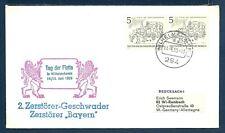 Zerstorer BAYERN Federal German Navy Destroyer Naval Cover