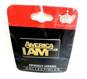 America I AM The African American Imprint Exibition Lapel Hat Pin Collector Item