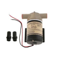 12V Water Puppy Bilge / Sump Flexible Impeller Pump 8 GPM for Boats