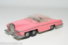 DINKY TOYS 100 THUNDERBIRDS LADY PENELOPE'S FAB 1 FAB1 PINK EXCELLENT CONDITION.
