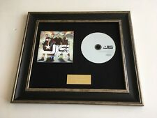 PERSONALLY SIGNED/AUTOGRAPHED JLS - JUKEBOX FRAMED CD PRESENTATION