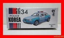 DEC 2018 #34 HYUNDAI ELANTRA Korea Police Car 1:64 XCARTOYS