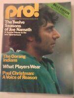 Pro! Sports Magazine Joe Namath's 12th Season September 19, 1976 060819nonrh
