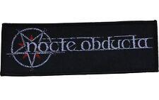NOCTE OBDUCTA - Logo - Woven Patch / Aufnäher