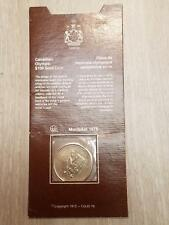 1976 Gold Montreal Olympic $100 Dollar Bullion Canada 1/4 oz Coin