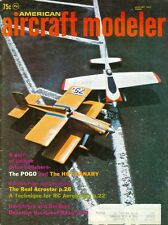 1971 American Aircraft Modeler Magazine: The Pogo & The Hot Canary/Real Acrostar