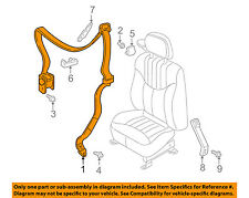 GM OEM Front Seat Belt-Retractor Side Right 89022756