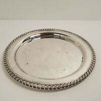 Vintage Oneida Silver Plate 10 Inch Bon Bon Tray