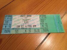 Kiss 6th October 1996 USAir Arena Ticket Reunion Tour