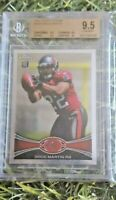 DOUG MARTIN 2012 TOPPS CHROME #147A ROOKIE CARD  BGS 9.5