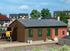 11332 Auhagen HO Kit of a Locomotive shed double track - NEW