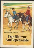 Redshepmurad Durdyjew Der Ritt zur Antilopenweide Freunde Streiche Pferd Aul DDR