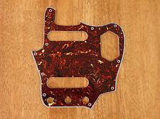 PICKGUARD BROWN TORTOISE SHELL 4 PLY FOR FENDER JAGUAR