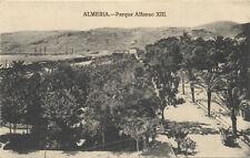 Tarjeta Postal. Almería. Parque Alfonso XIII. Ed. VÁZQUEZ. Rara.