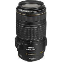 Canon Zoom Telephoto EF 70-300mm f/4-5.6 IS USM Lens