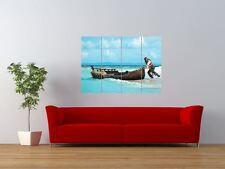 Piratas Del Caribe costas extrañas Sparrow Gigante impresión arte cartel del panel nor0078