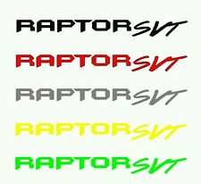 Raptor SVT Decal Banner Windshield FREE SHIPPING and Tracking number Ford