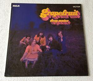 GRAPEFRUIT ~ DEEP WATER ~ 1969 UK 10-TRACK STEREO VINYL LP RECORD ~ RCA SF 8030