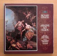 Strauss Ariadne Auf Naxos Rysanek Berry Leinsdorf 3xLP Decca 2BB 112-4 EXCELLENT