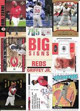 KEN GRIFFEY JR  2004 LEAF  GAMERS #G12      CINCINNATI REDS