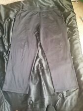 Champion Duo Dry Black Sweatpants XL TG Exercise Gym Running